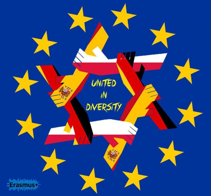 "Projekt Erasmus+ Embracing our European cultural heritage – ""United in diversity"" (Zjednoczeni w różnorodności)"